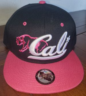 Hot pink w Black California Republic Snap-Back Hat for Sale in Colton, CA