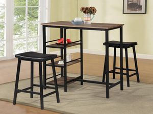3PC Pub Height Dining Set *BRAND NEW* for Sale in Columbia, MD