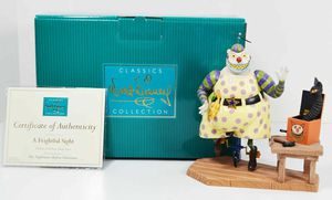 WDCC Disney The Nightmare Before Christmas 'A Frightful Sight' Clown Figurine for Sale in Kent, WA