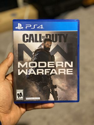 Ps4 PlayStation Call of Duty Modern Warfare game ‼️ for Sale in Cypress, CA