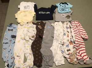 Carter's baby boy clothes lot for Sale in Manchester, CT