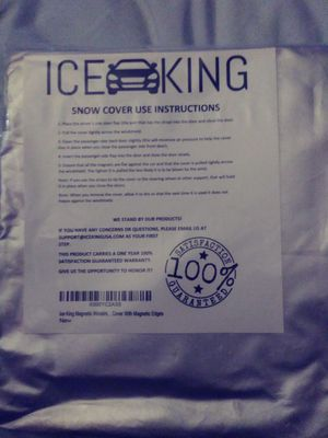 ICE KING windshield snow cover for Sale in Rockville, MD