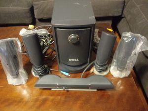 Dell TV or computer surrond sound system for Sale in Nashville, TN