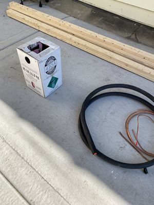 Freon, line set, copper pipes for AC for Sale in Chicago, IL