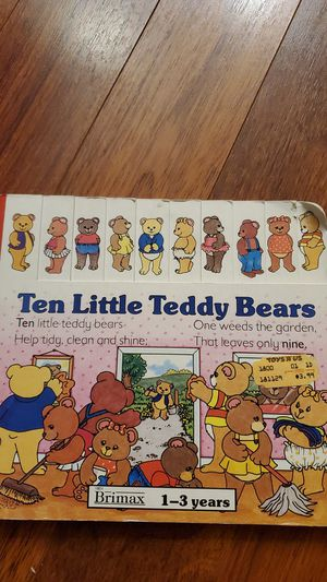Ten Little Teddy Bears for Sale in Bellevue, WA