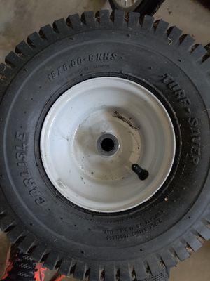 Carlisle Turf Saver 15x6 Tractor / Mower wheels for Sale in Bedford, TX