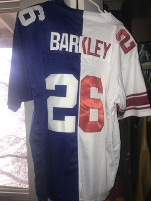 New York giants Barkley split men's large for Sale in Colorado Springs, CO