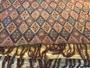Beaded satin throw blanket for Sale in Scottsdale, AZ