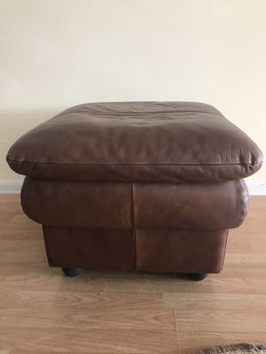 Ottoman Leather for Sale in Hollywood, FL