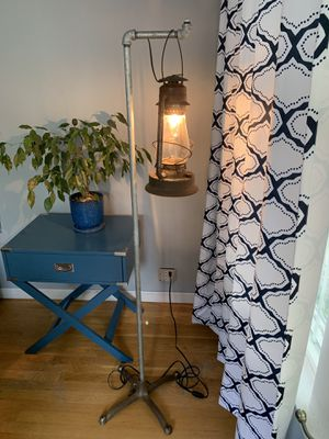 Industrial steampunk floor lamp for Sale in Chicago, IL