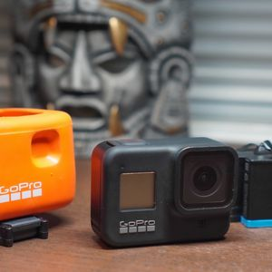 GoPro Hero 8 Black + $110 Accessories for Sale in Redwood City, CA