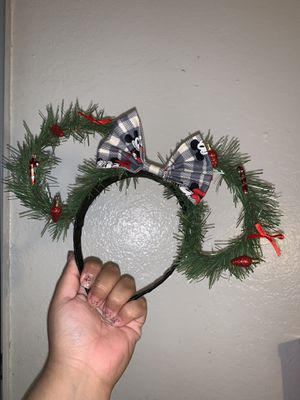 Christmas themes Mickey Ears for Sale in Ontario, CA