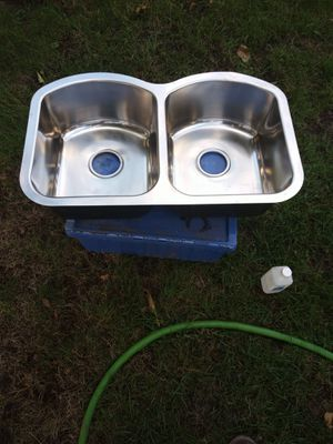 I have 3 stainless steel sinks 100 each for Sale in Puyallup, WA
