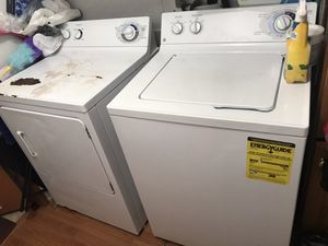 Washer/dryer *NEED THEM GONE ASAP* for Sale in Brentwood, NC