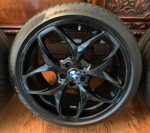 21 bmw rims and tires for Sale in Hartford, CT