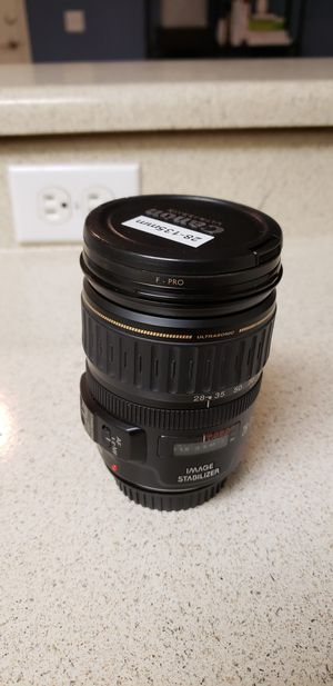 Canon 28-135mm with filter for Sale in Irvine, CA