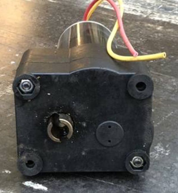 RV Trailer Electric Jack Motor and Gearbox