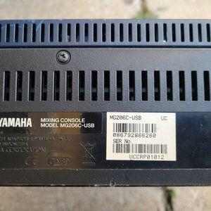 Mezcladora Yamaha Mg206c for Sale in Irving, TX