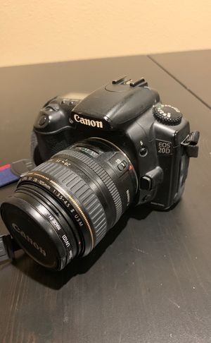 Canon EOS 20D Digital Camera - Working! for Sale in Rancho Santa Margarita, CA