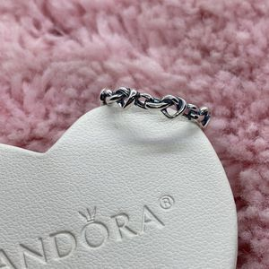Knotted Heart Pandora Ring Size 52EU/6US for Sale in Waukegan, IL
