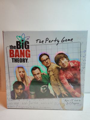 The Big Bang Theory Party Game New for Sale in Rialto, CA