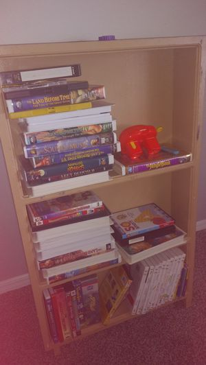 Movies and cabinet 20.00 for Sale in Santa Maria, CA