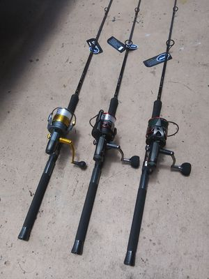 Okuma baitrunner with new Cortez fishing rods...175.00 each for Sale in Pembroke Pines, FL