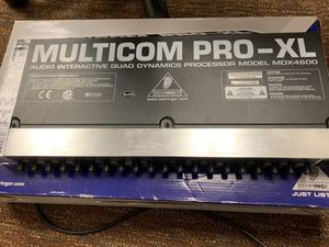 Multicom Pro-XL Audio Interactive Quad Dynamics Processor MDX4600 for Sale in Dallas, TX