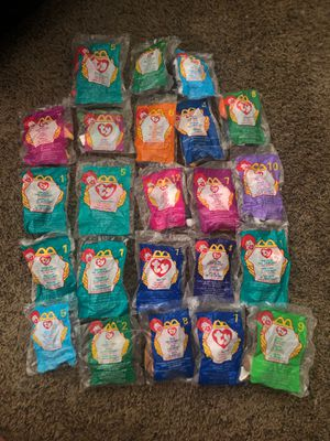 23 vintage ty teenie beanie babies for Sale in Springboro, OH