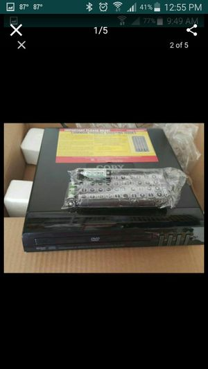 New Coby DVD255 Compact DVD Player (Black) for Sale in Murfreesboro, TN
