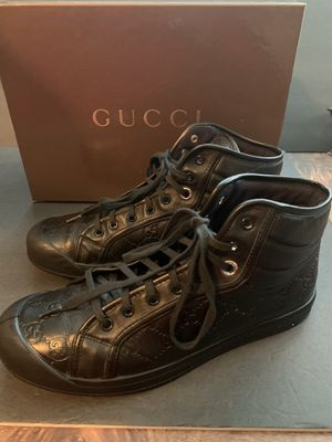 Gucci leather GG high tops size 8 for Sale in West Linn, OR