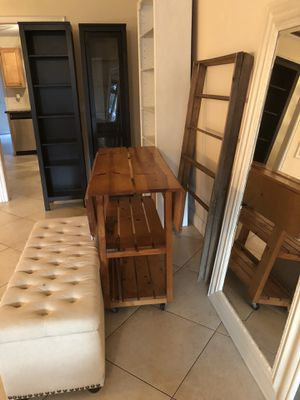 Butchers/chefs kitchen island on castors for Sale in LAUD BY SEA, FL