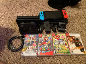 Nintendo Switch and games for Sale in Argyle, TX
