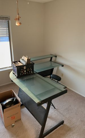 Desk with chair for Sale in Chandler, AZ