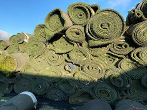 Synthetic grass recycled. for Sale in Creswell, OR