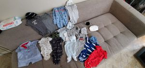 Newborn clothes diapers for Sale in Mesquite, TX