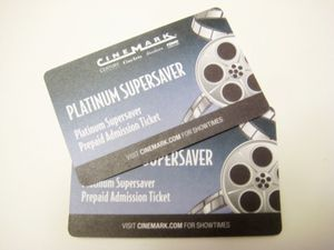 Two Cinemark platinum admission tickets for Sale in Colorado Springs, CO