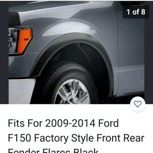 Ford F150 No Drill Fender Flares for Sale in Oswego, IL