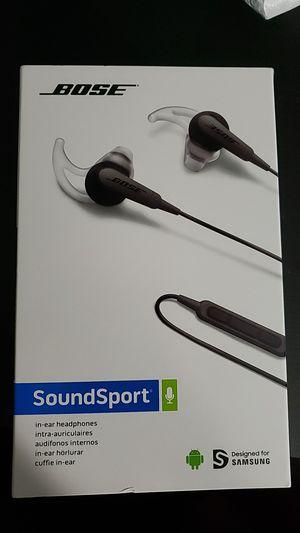 Bose soundsport headphones for Sale in Detroit, MI