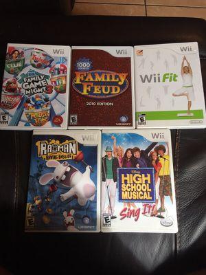 Wii games for Sale in Hialeah, FL