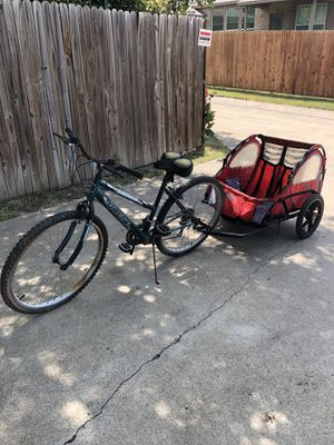 Bike and trailer for Sale in DeSoto, TX