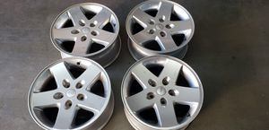 Aluminum Jeep wheels for Sale in Concord, NC