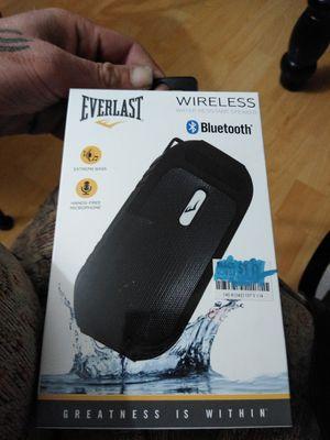 NEW IN BOX. WATERPROOF BLUETOOTH SPEAKER for Sale in Carmichael, CA