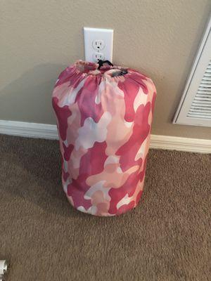 Pink Camo sleeping bag for Sale in Gibsonton, FL