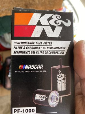 Fuel filter k&n for Sale in Stockton, CA
