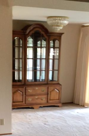 Antique china cabinet in great conditions for Sale in Santa Clara, CA