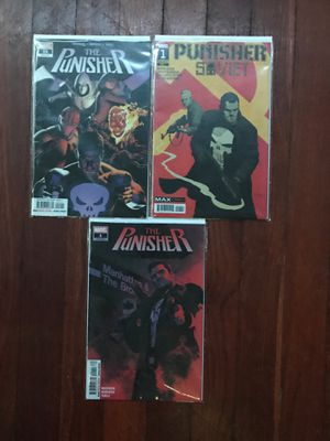 Marvel Comics Punisher for Sale in Richmond, CA