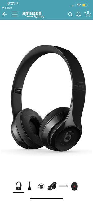 Beats Solo 3 Wireless - Gloss Black for Sale in Carson, CA