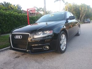 2012 AUDI A4...RUNS FAST & SMOOTH, HIGH MILES, CLEAN TITLE for Sale in Miami, FL