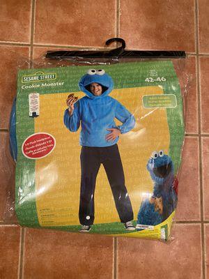 Sesame Street Cookie Monster adult costume for Sale in Los Angeles, CA